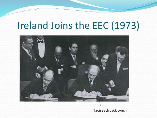 ireland joining eu